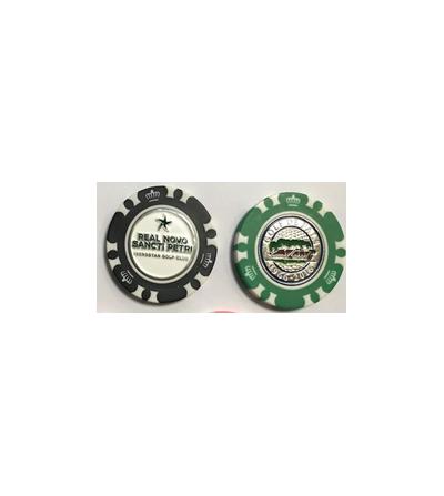 Ficha de póker logo grabado...