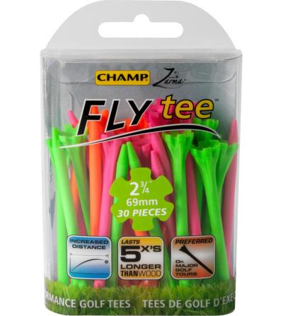 Fly tees colores surtidos neón