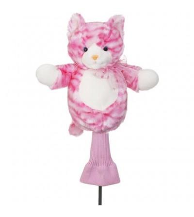 Funda driver gato rosa