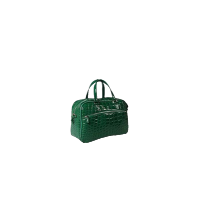 Alligator duffel bag