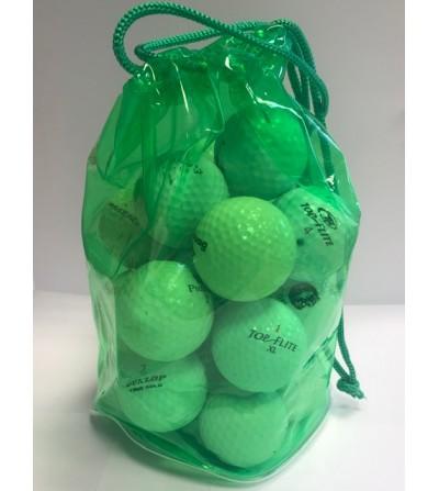 Bolsa verde 20 bolas